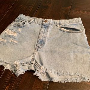 Faded glory denim Jean shorts